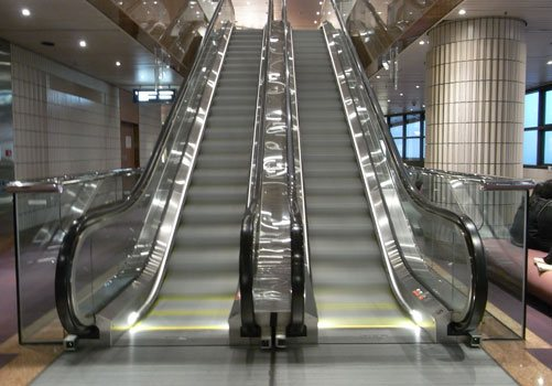 image of an Escalator